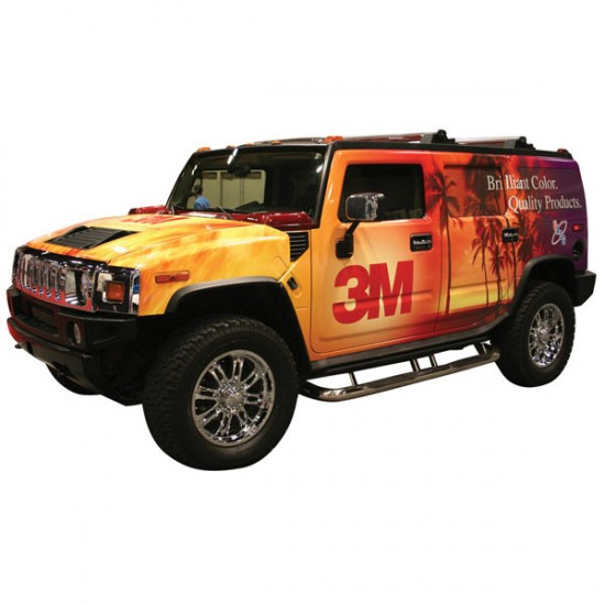 Vehicle Wrap 3M CAST printing