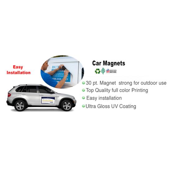 Car Magnets printing