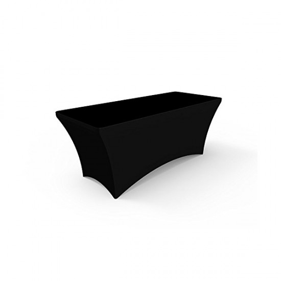 Black Stretch Table Cover