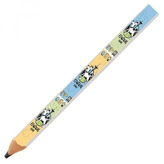 Impression de Crayon Menuiser Pleines Couleurs