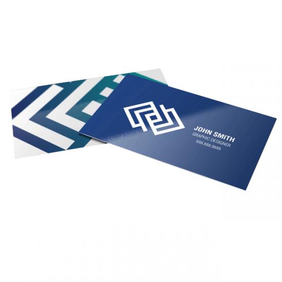Premium Gloss Business Cards printing