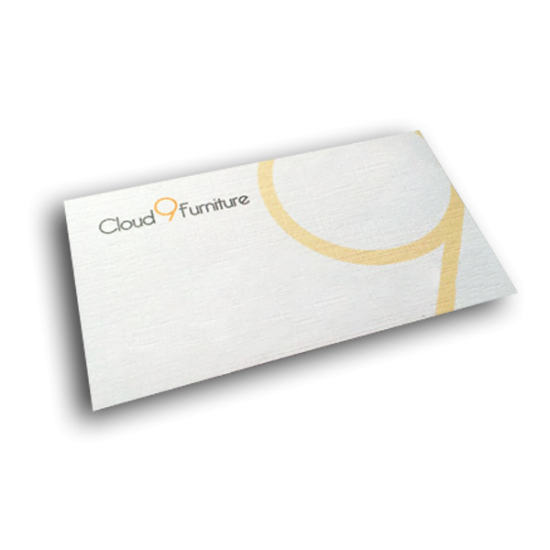 Linen Texture Business Cards printing