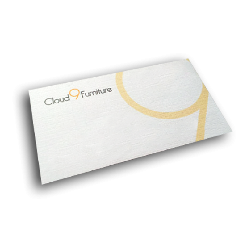 Lowest Price On Linen Texture Business Cards | Printing Frog