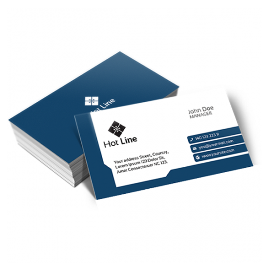 Matte Laminated Business Cards printing