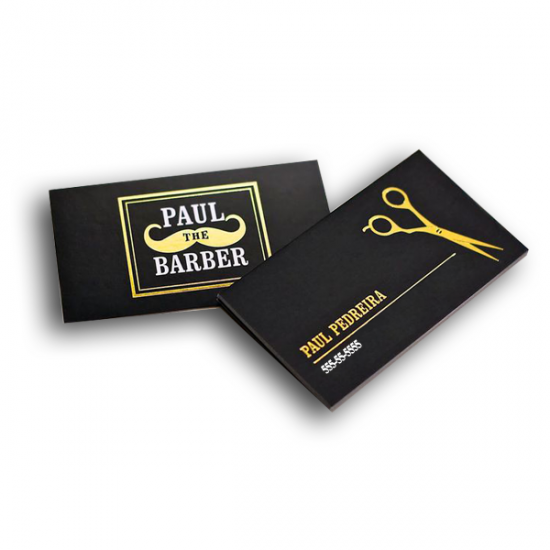 Matte Laminated Business Cards with Foil printing