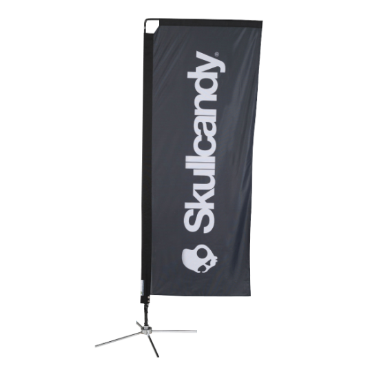 Rectangle Promotional Flags printing